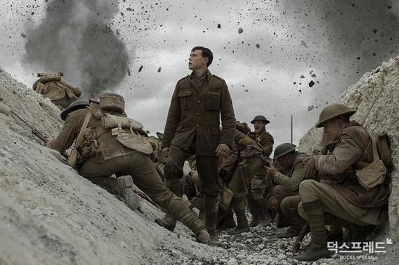 <1917> 북미 주말 박스오피스 1위! <스타워즈: 라이즈 오브 스카이워커> 제쳤다!